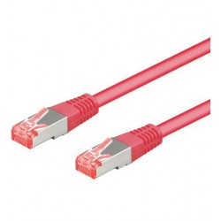 Cavo Patch CAT6  3 m Rosa